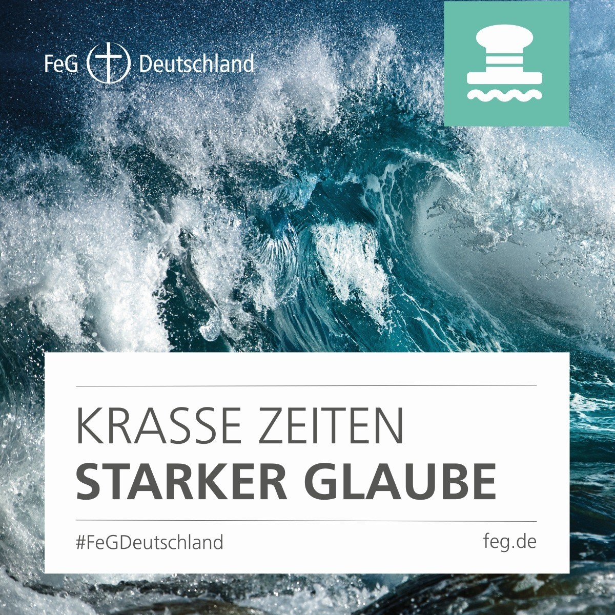 """FeG Gemeindeprojekt """"KRASSE ZEITEN. STARKER GLAUBE."""