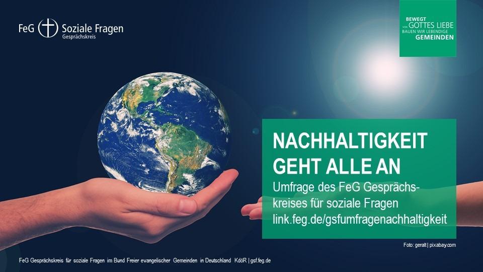 FeG GsF Umfrage Nachhaltigkeit