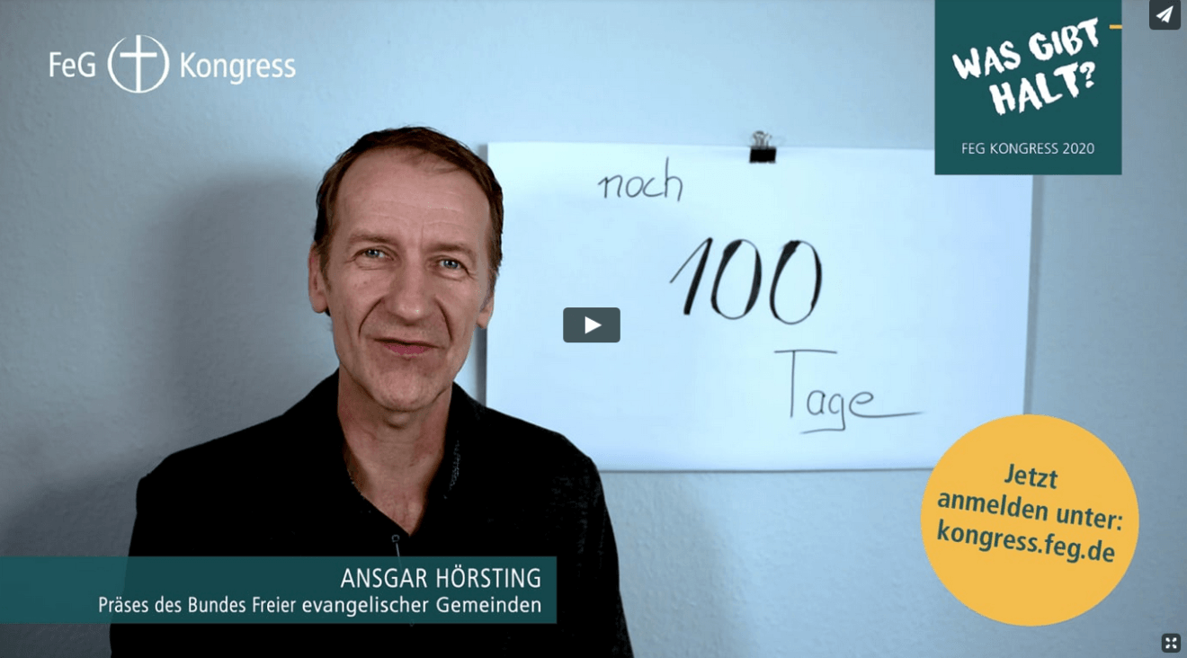 FeG Kongress Video 100 Tage