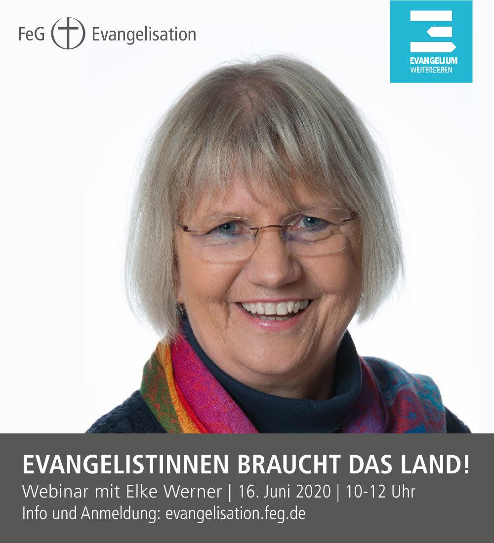 Evangelistinnen braucht das Land