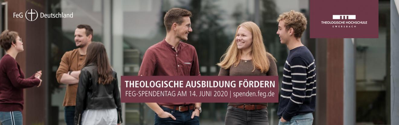 THEOLOGISCHEAUSBILDUNG FÖRDERN   FeG-Spendentag