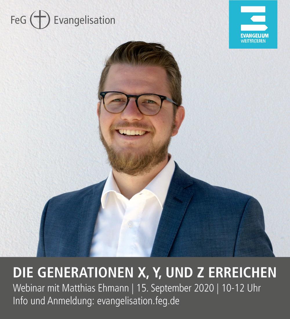 Generationen X Y Z erreichen