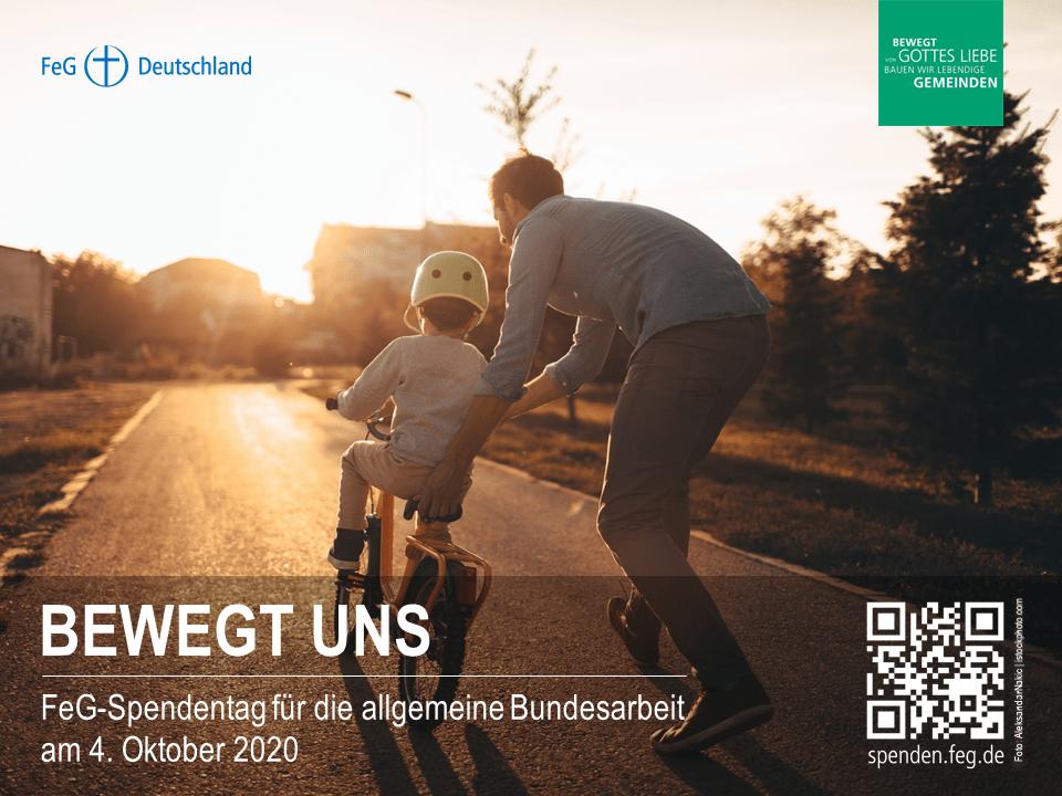 BEWEGT UNS | FeG_Spendentag
