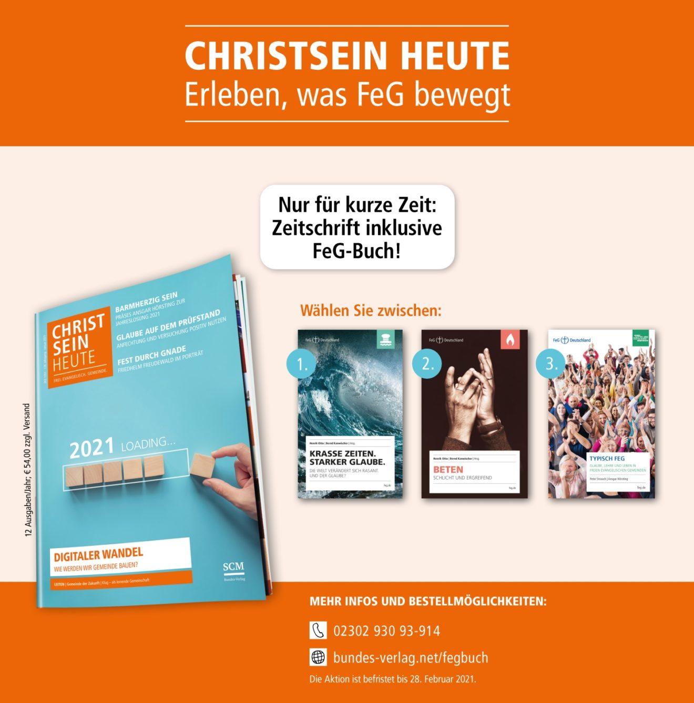 CHRISTSEIN HEUTE | Abo