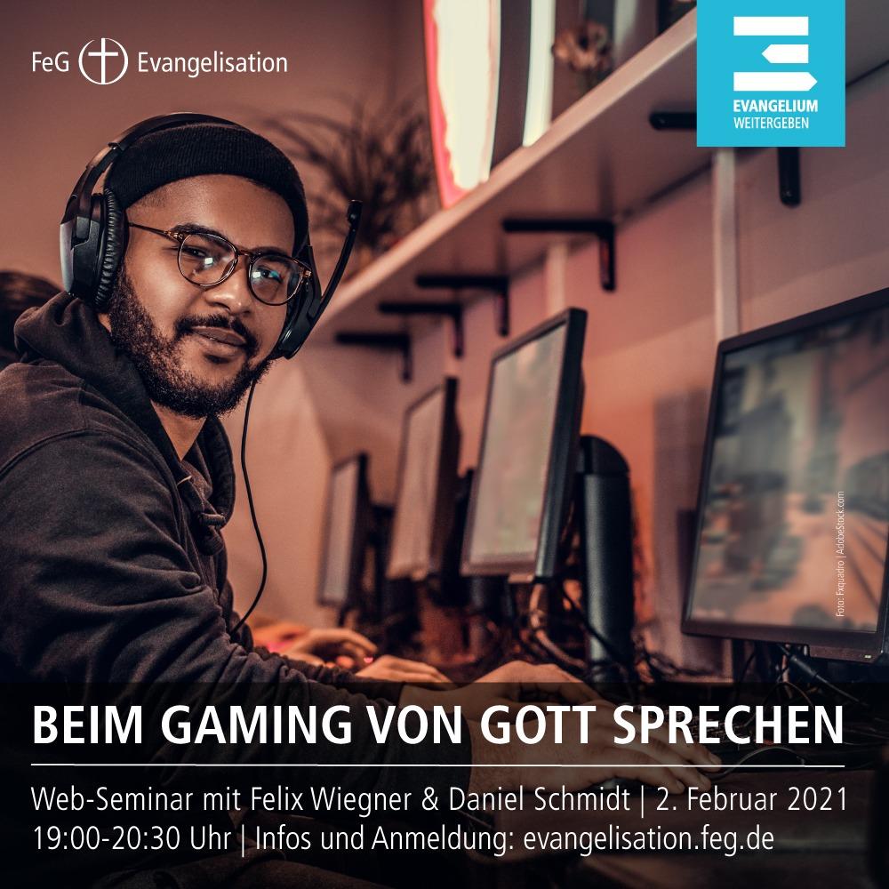 FeG Evangelisation | Gaming Webseminar