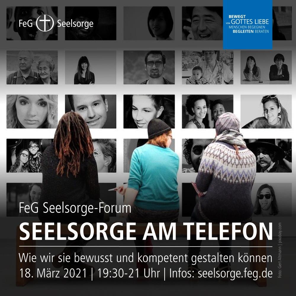 FeG Seelsorge-Forum   Seelsorge am Telefon