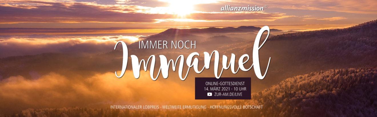 Allianz-Mission | Online-Gottesdienst