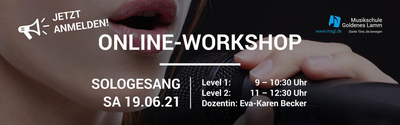 MSGL   Workshop Sologesang